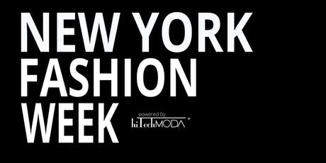 NYFW hiTechMODA Fashion Designer, Accessory, Emerging Designer Sign up  tickets