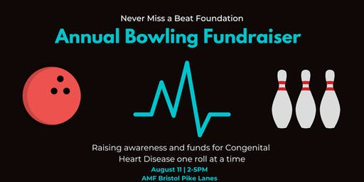 Never Miss a Beat Foundation 3rd Annual Bowling Fundraiser
