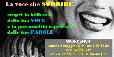 "Workshop ""La voce che SORRIDE"""