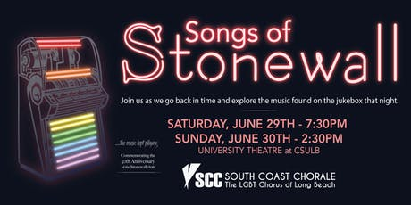 Songs of Stonewall tickets