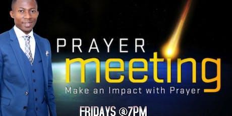 Friday Prophetic Night (Power Night) tickets