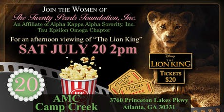 The Lion King Movie Screening tickets