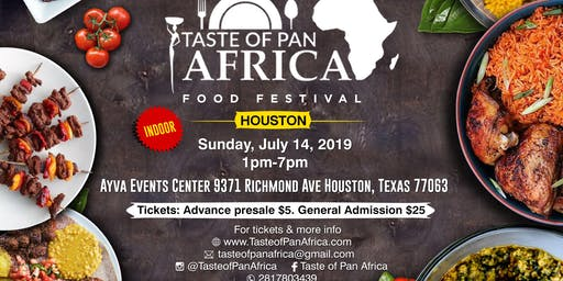 TASTE OF PAN-AFRICA  - HOUSTON