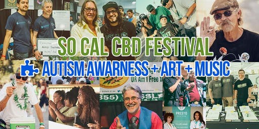 VENDOR RESERVATION | SoCal CBD Festival Autism Awareness + Art + Music