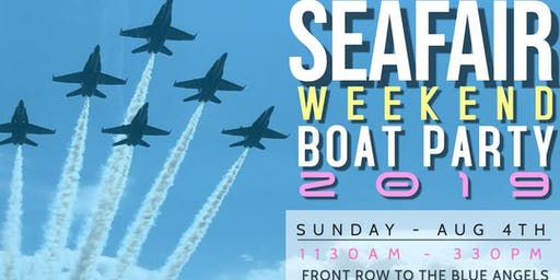 Seafair Finale 2019 Boat Party
