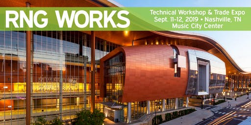 RNG WORKS 2019 - Technical Workshop & Trade Expo