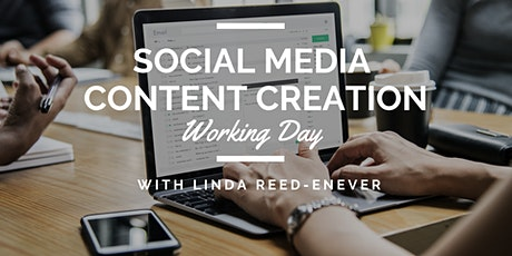 Social Media Content Creation Working Day tickets