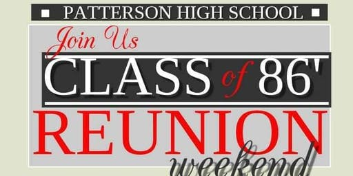 Patterson High School Class of 1986 Get Together