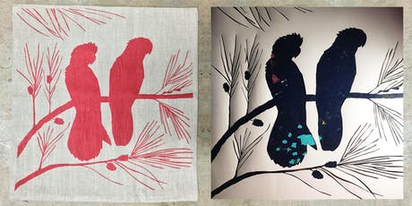 WORKSHOP | Screen Printing On Linen with Rebecca Lewis tickets