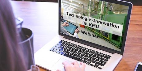 Free Live-Webinar: Technologie-Innovation im KMU Tickets