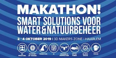 Makathon Smart Solutions voor Water en Natuur 2019