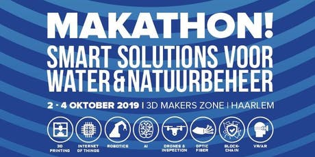 Makathon Smart Solutions voor Water en Natuur 2019 tickets