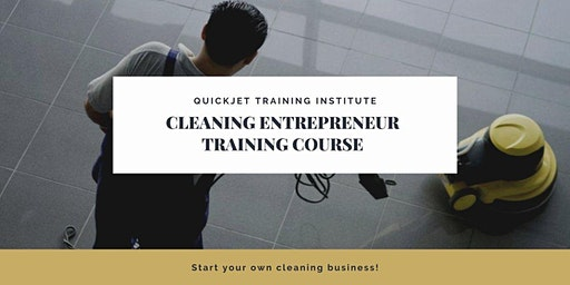 Quickjet Professional Cleaning Training at CHAI Hub