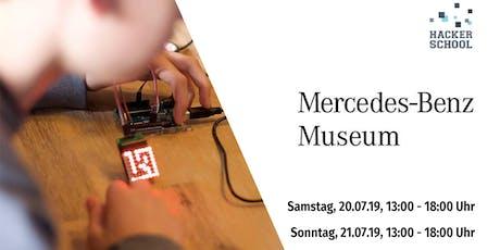 S04: Hacker School Stuttgart - powered by Mercedes-Benz Museum Tickets
