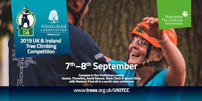 2019 UK & Ireland Tree Climbing Competition