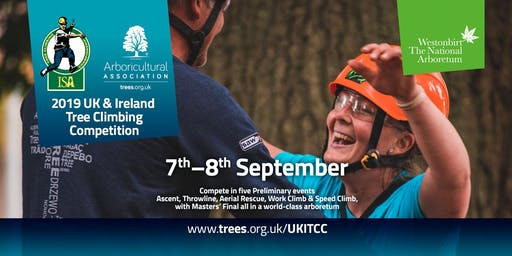 2019 UK & Ireland Tree Climbing Competition