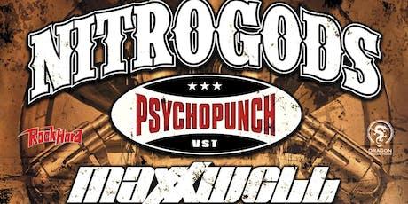 NITROGODS + PSYCHOPUNCH + MAXXWELL @ De Klinker - Aarschot tickets