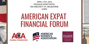 American Expat Financial Forum Melbourne
