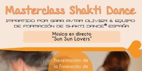 Masterclass Shakti Dance & Presentación de la Formación 2020 entradas