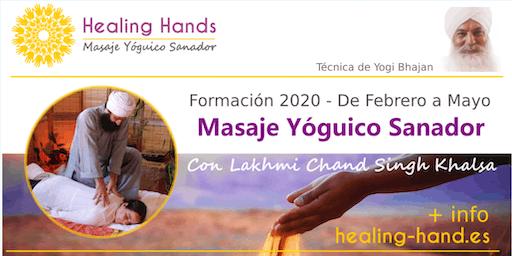 Formación Healing Hands - Masaje Yóguico Sanador