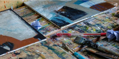 COLOUR, COLLAGE AND TEXTURE IN ABSTRACT PAINTING tickets