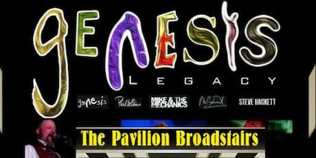 Genesis Legacy tickets