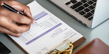 Workshop - Financieel plan en Belastingen tickets
