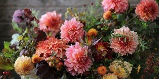 Autumn Hand Tied Bouquet Workshop