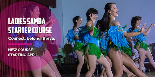 Ladies Brazilian Samba Starter 8 Week Course. Thursdays from 24th October