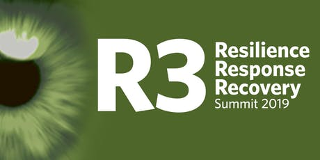 R3: Resilience, Response & Recovery 2019 tickets