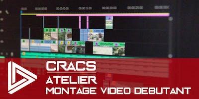 Montage vidéo - débutant