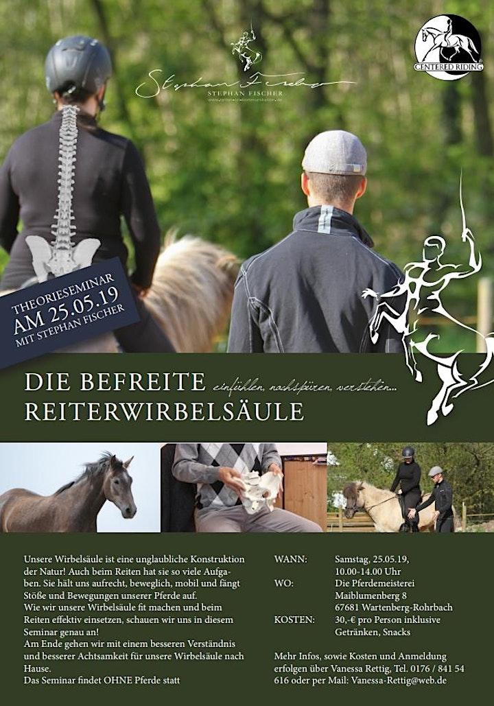 """Workshop """"Die befreite Reiterwirbelsäule"""" mit Stephan Fischer: Bild"""