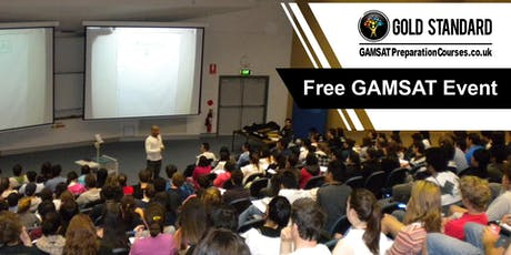 Free GAMSAT Seminar at Imperial College London | Gold Standard GAMSAT tickets