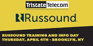 Russound Training and Counter Day (Brooklyn NY) April...