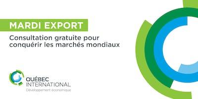 Consultation gratuite - Mardi EXPORT