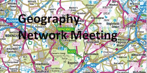 Geography Network Meeting (KS2/3)