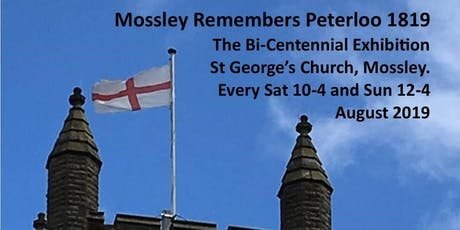 Mossley Remembers Peterloo tickets