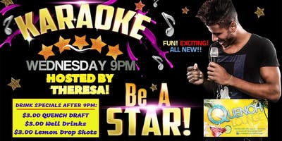 Wednesday Karaoke at Quench Lounge