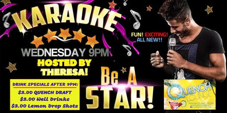 Wednesday Karaoke at Quench Lounge tickets