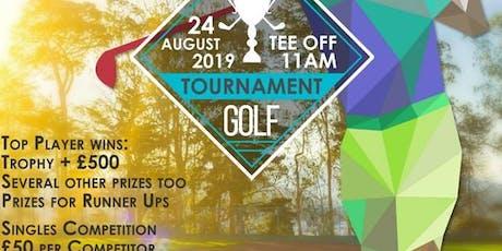 Newcastle Zimbabwe Open Golf Tournament tickets