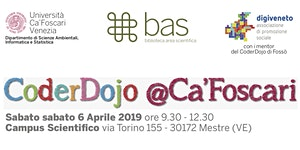 CoderDojo @Ca'Foscari - Mestre, 6 aprile 2019