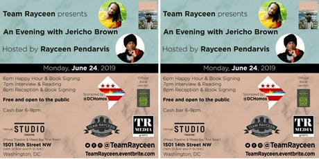 Team Rayceen presents An Evening with Jericho Brown, hosted by Rayceen Pendarvis tickets