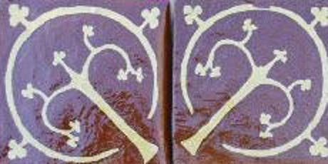 Pontefract Castle: Medieval Tile Making - Saturday 20th July 2019 - Adults 18+ tickets