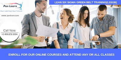 Lean Six Sigma Green Belt Certification Training In Claremont, CA