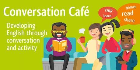 Conversation Cafe (Lostock Hall) #sharingstories tickets