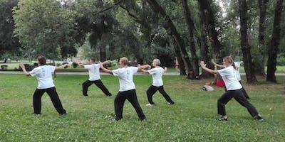 T'ai Chi al parco a Vicenza