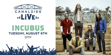 Canalside Live Series: Incubus tickets