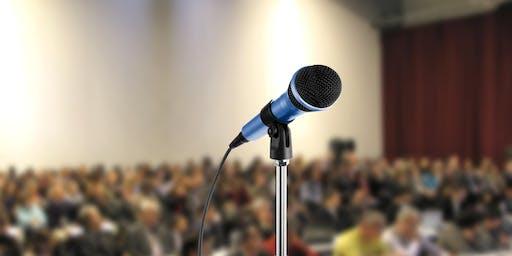 Public speaking  - Intensive 1 on 1 coaching