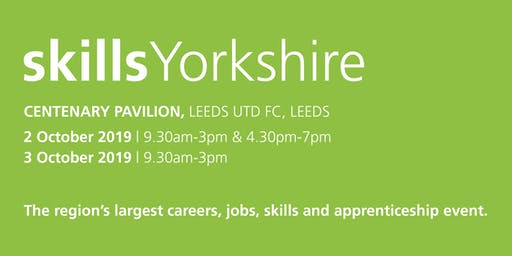 Skills Yorkshire 2019 - Family / Individual Registration