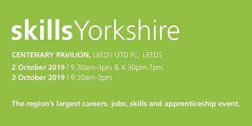 Skills Yorkshire 2019 - Family / Individual Registration